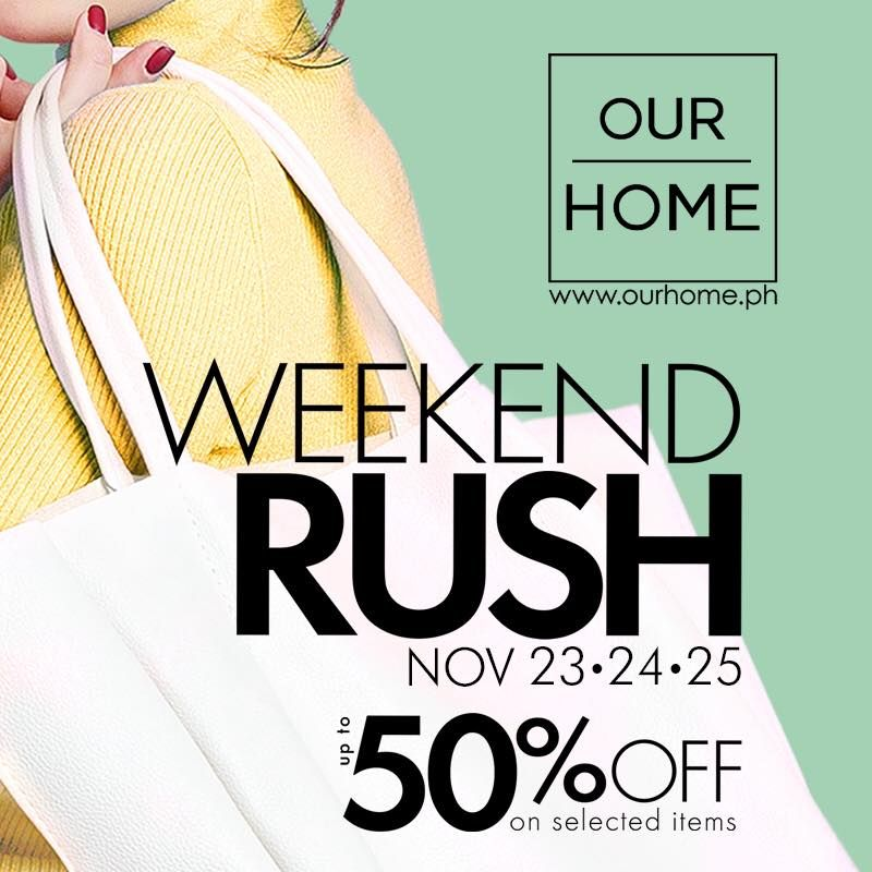 46f7f4c06 SM Our Home Sale Up to 50% off on select furniture and decor ...