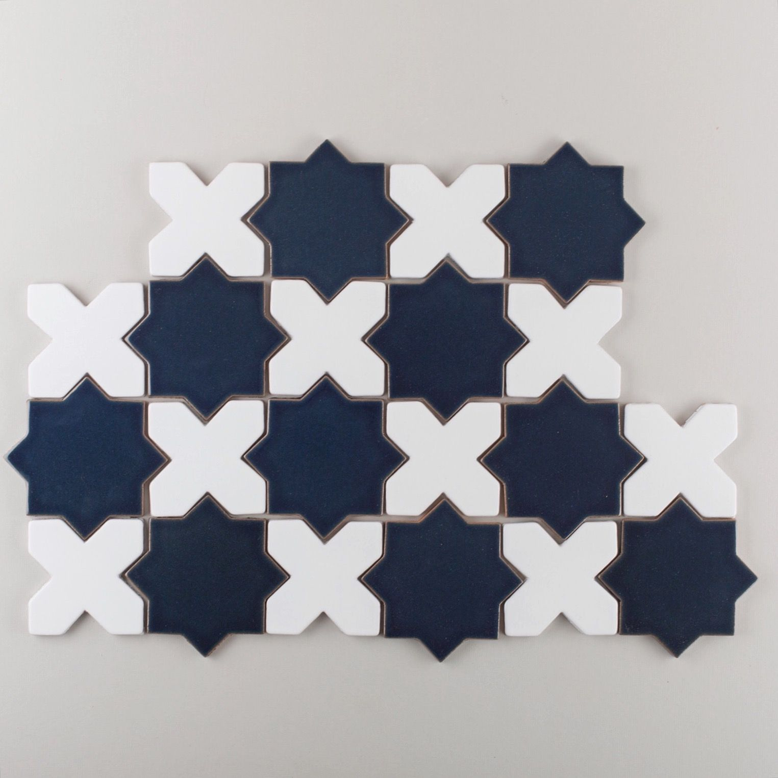 A classic tile pattern that works beautifully for both wall and ...