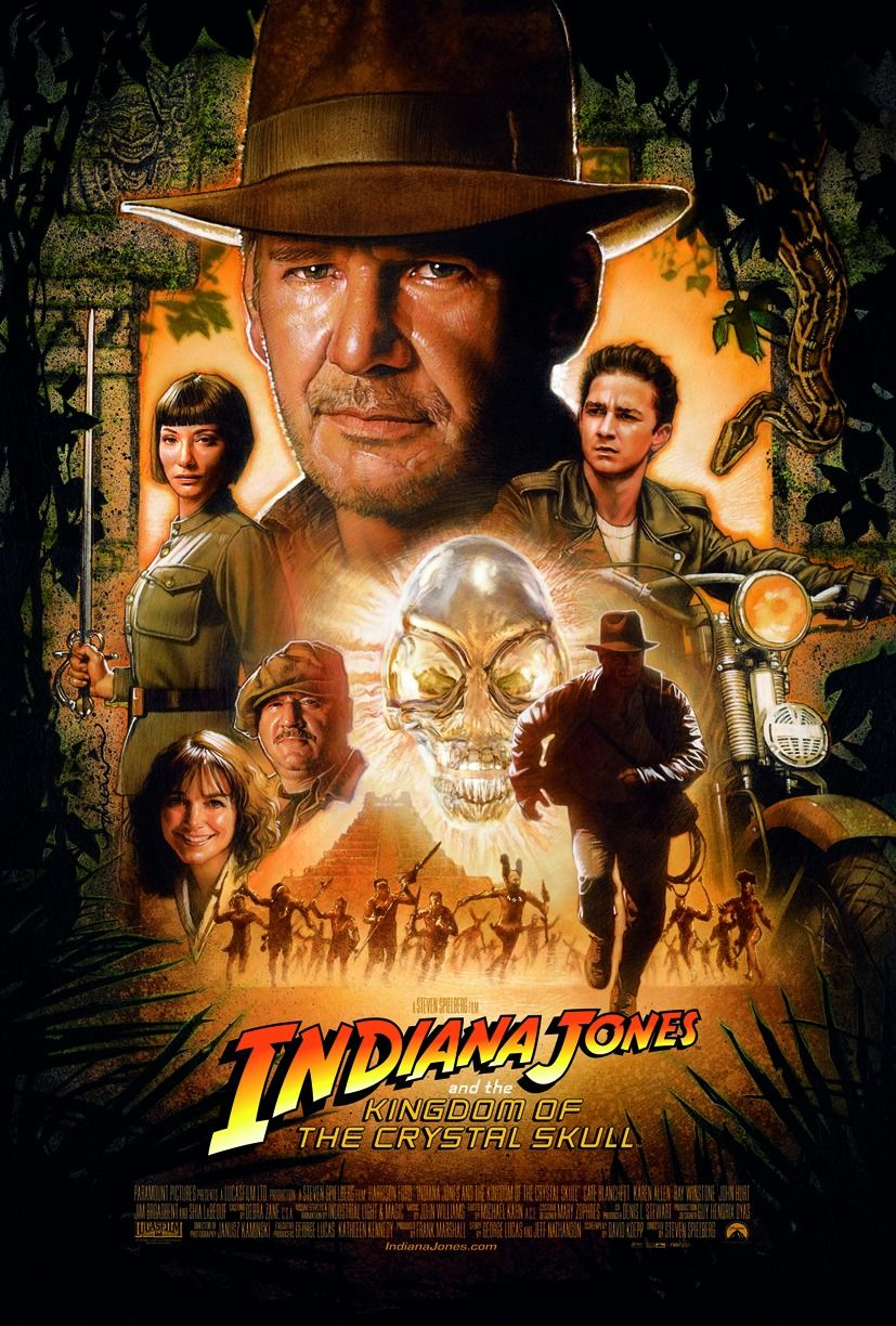 Indiana Jones Kingdom Of The Crystal Skull Filmplakate Filme Filmposter