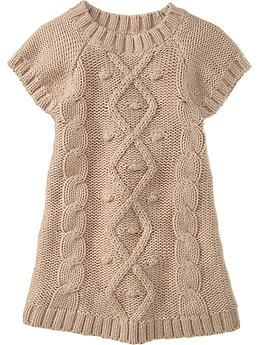 1967207d6 Cable-Knit Sweater Dresses for Baby
