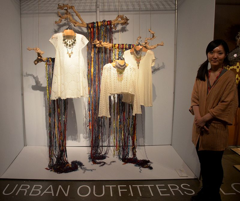 Urban Outfitters, 'Art of Display' Visual Merchandising Exhibition at Redefining Design 2014. The School of Fashion at Seneca College. #RedefiningDesign