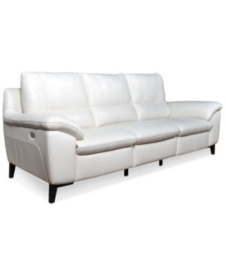 Stefana 3-Pc. Leather Sectional Sofa with 2 Power Recliners Created for Macyu0027s  sc 1 st  Pinterest : sectional sofa macys - Sectionals, Sofas & Couches
