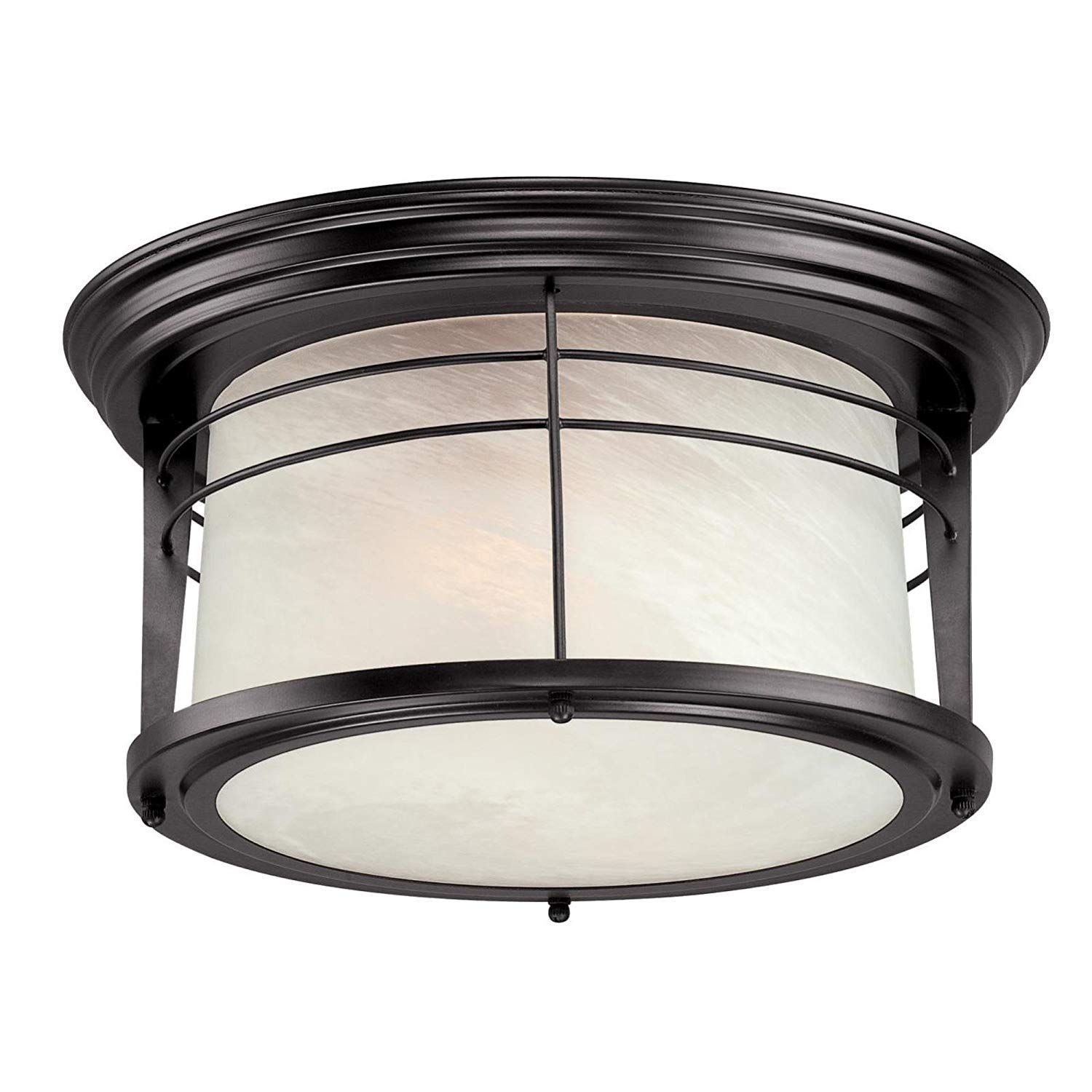 Amazon Com Westinghouse 05937003861 6674600 Senecaville Two Light Exterior Flush Mount Fixture Weath Porch Light Fixtures Porch Lighting Outdoor Flush Mounts