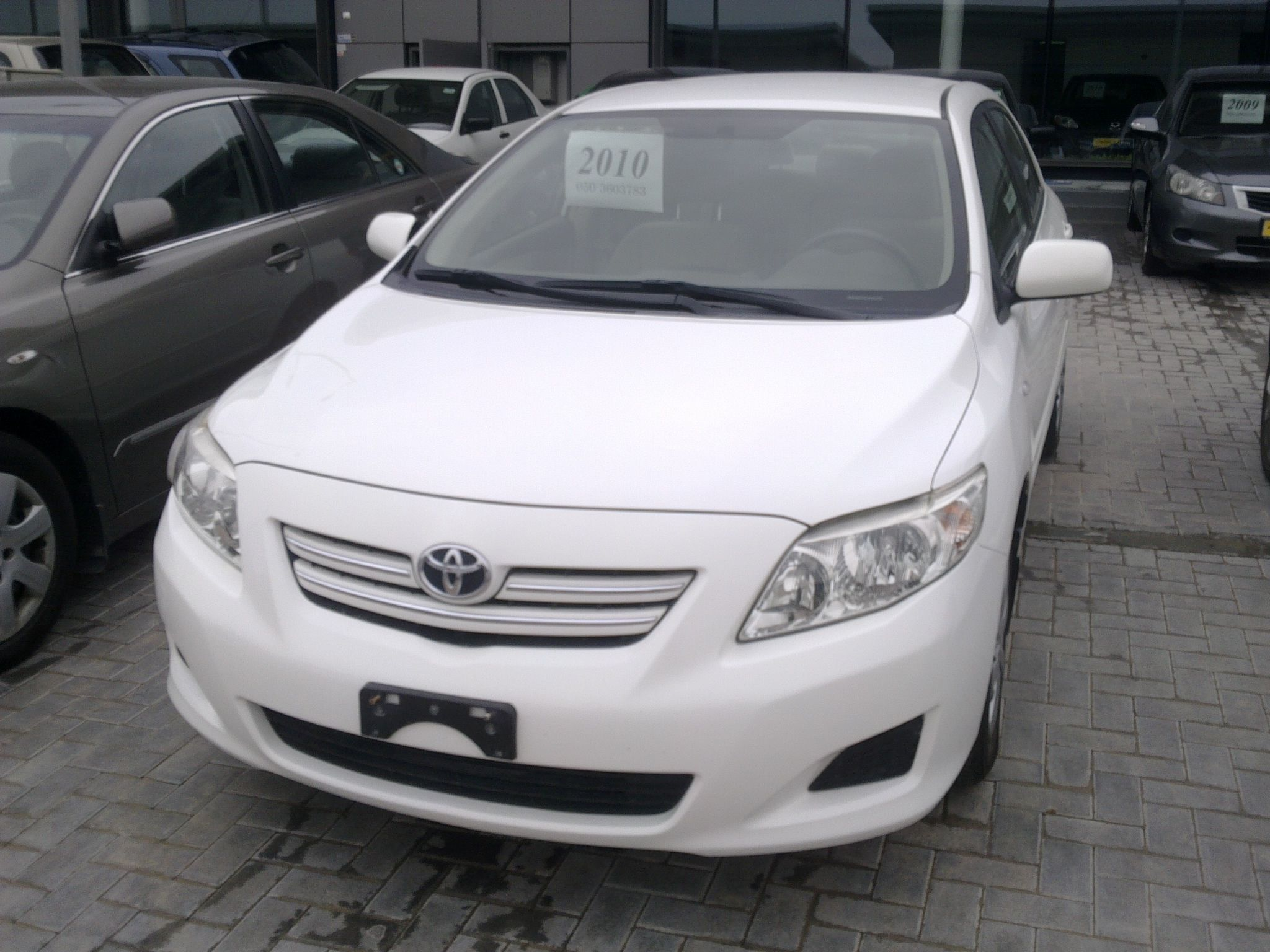 TOYOTA COROLLA 1.6 AED 38000 Toyota corolla, New and