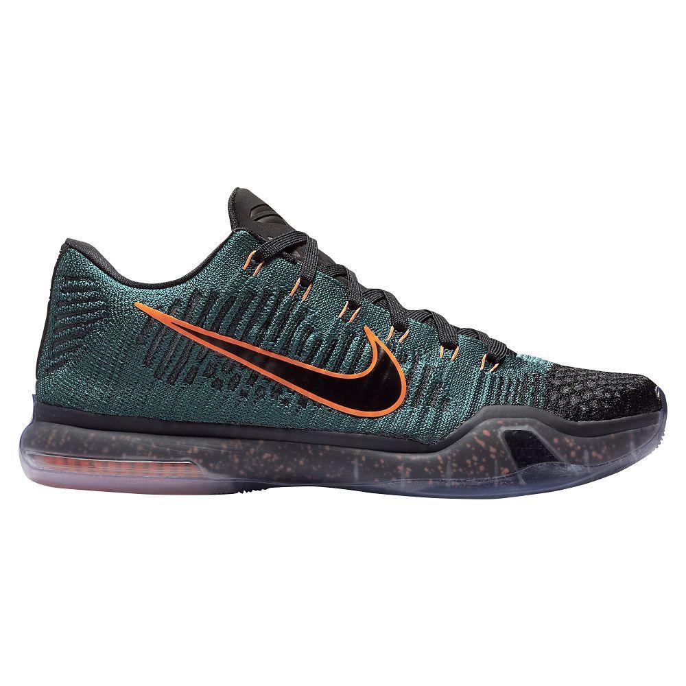 huge discount 6baaf c277b Nike Kobe 10 Elite Low - Men s - Basketball - Shoes - Kobe Bryant - Black  White Wolf Grey Pink Flash