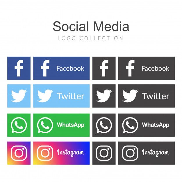 Icons For Social Networking Vector Illustration Design Vector