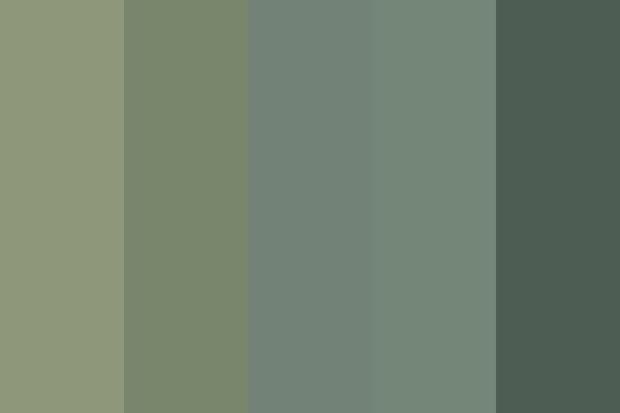 Sage Green color palette