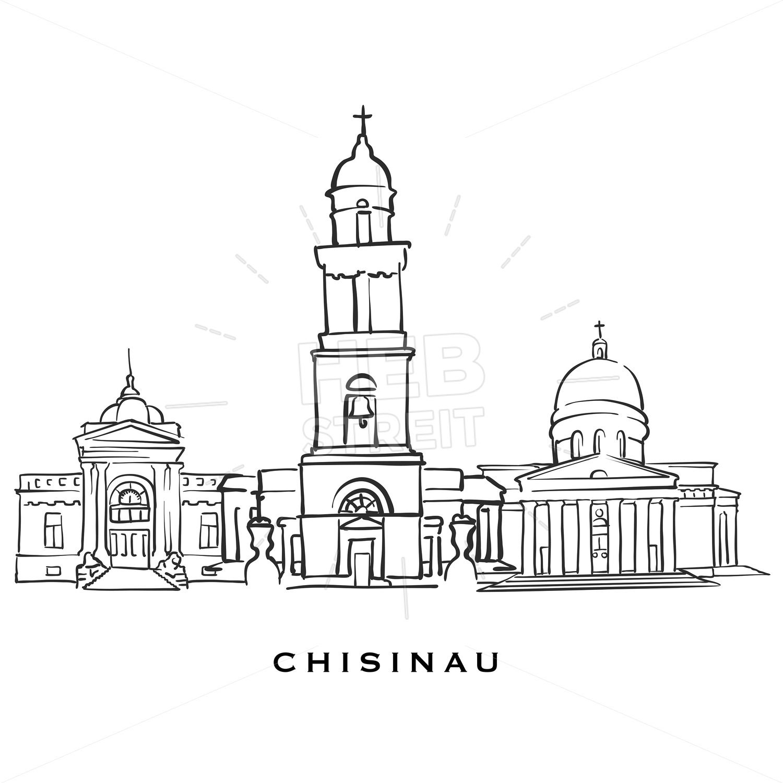Chisinau Moldova famous architecture in 2019 | Art | Famous