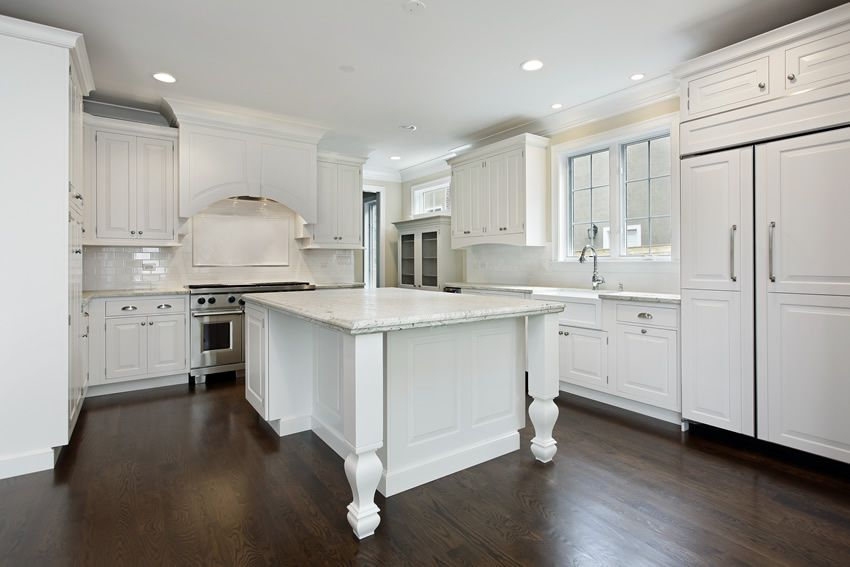 Attractive 35 Beautiful White Kitchen Designs (With Pictures)