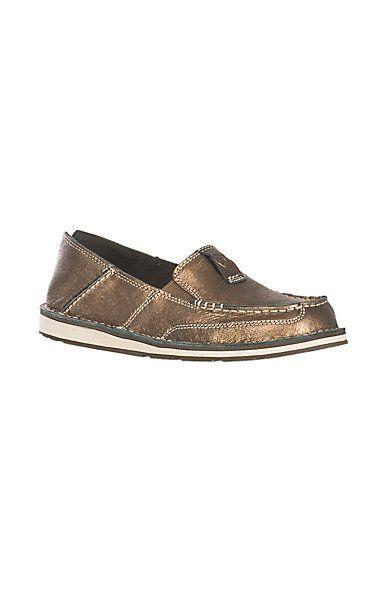 046ef8ca27e4 Ariat Women s Cruiser Metallic Bronze Casual Shoe