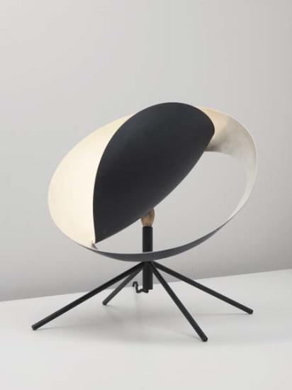 """Serge Mouille """"Grande Saturne"""" desk lamp, France, c. 1958"""
