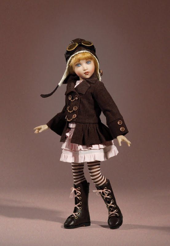 Happily Ever After: 2011 Helen Kish - Raven High Flying, rather Steampunk-ish