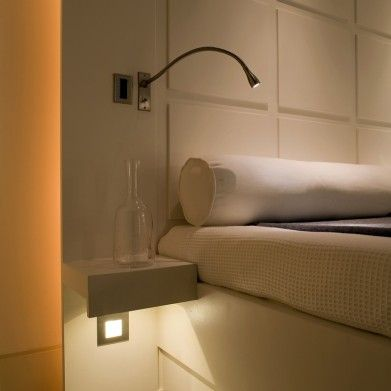 www.johncullenlighting.co.uk Cama LED bedside reading light | John Cullen  Lighting