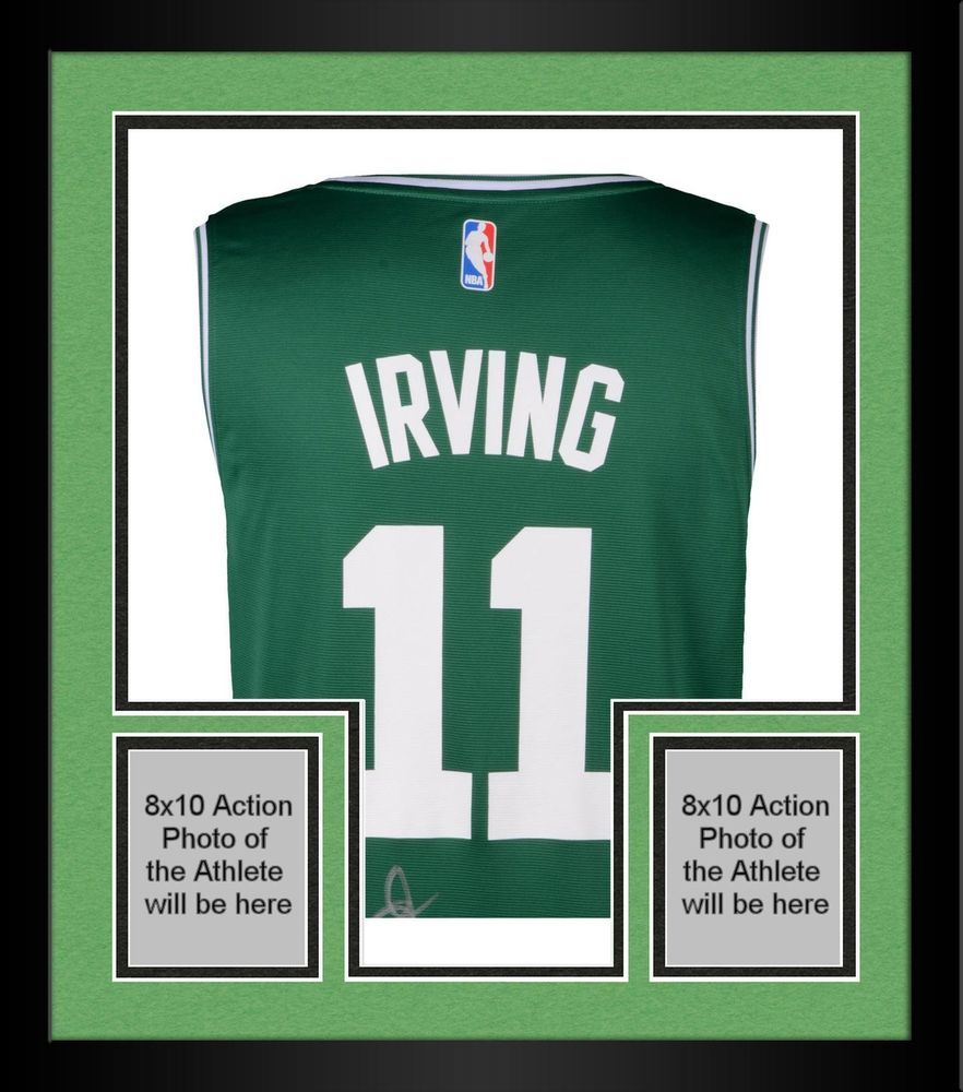 6b7ed81885b Autographed Kyrie Irving Celtics Jersey Fanatics Authentic COA Item 8803541