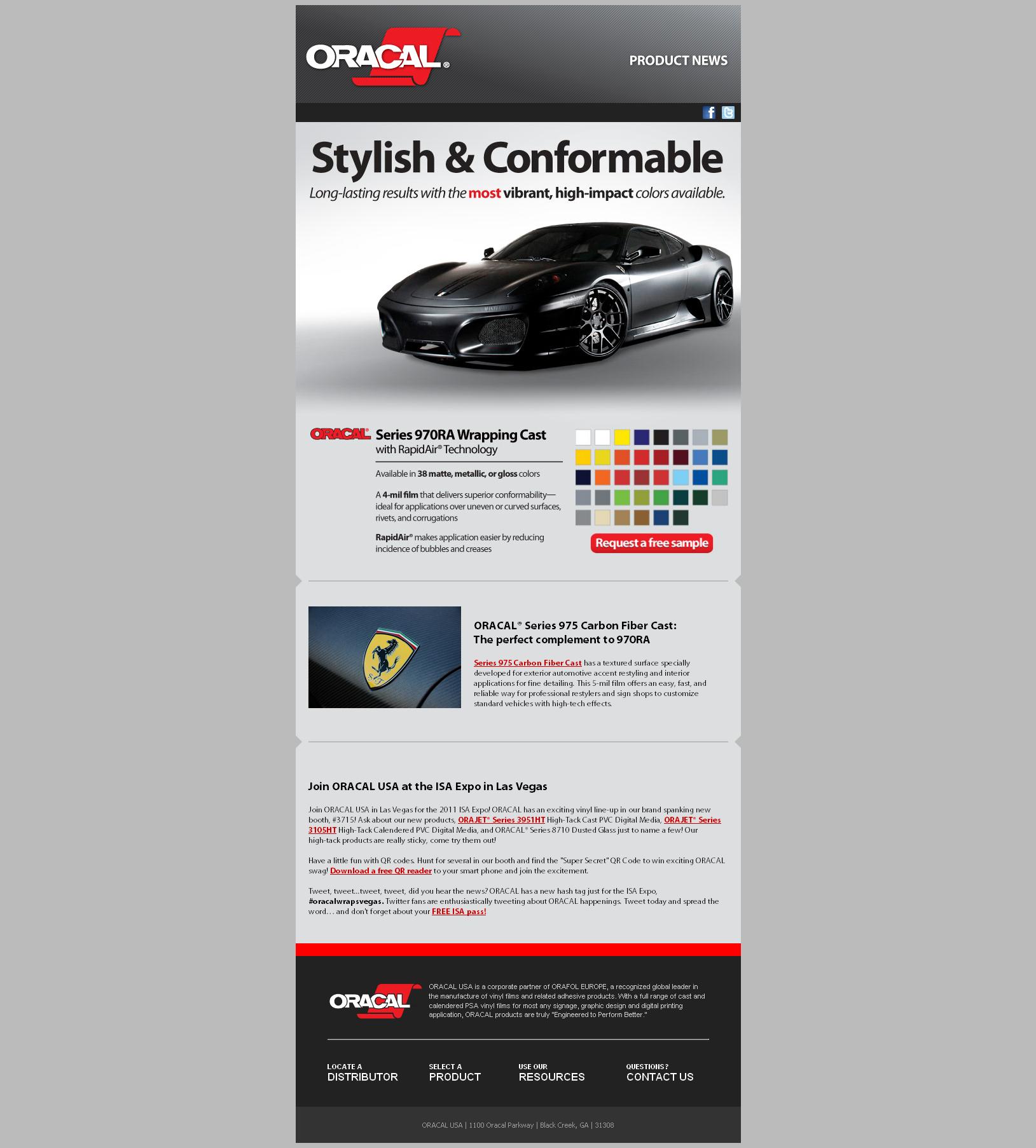 Complete mailchimp email newsletter | Email newsletter design