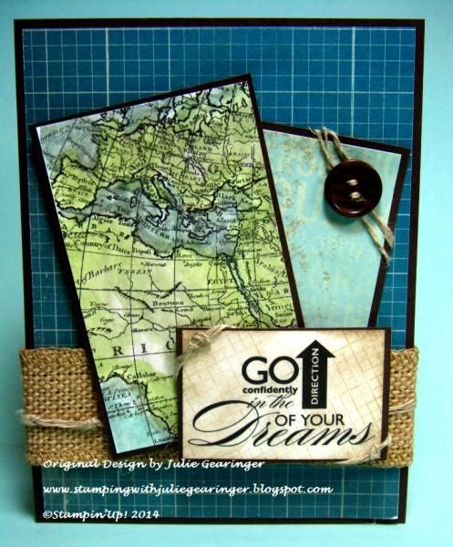 PPA197 Go In the Direction  by Julie Gearinger - Cards and Paper Crafts at Splitcoaststampers
