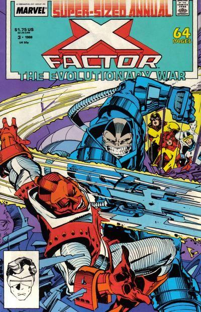 X-Factor Annual # 3 by Walter Simonson