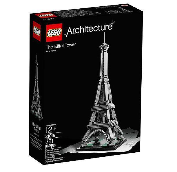 #Lego #LEGO® #21019 LEGO Architecture Der Eiffelturm Beide ...