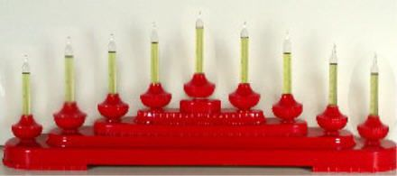 gold christmas candolier display with 11 bubble lights for sale google search