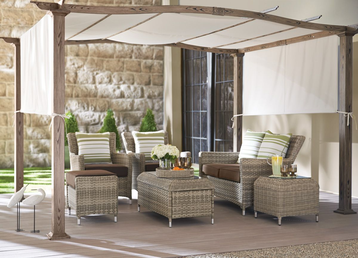 Patio 2014 Collection Cayman Conversation Set With
