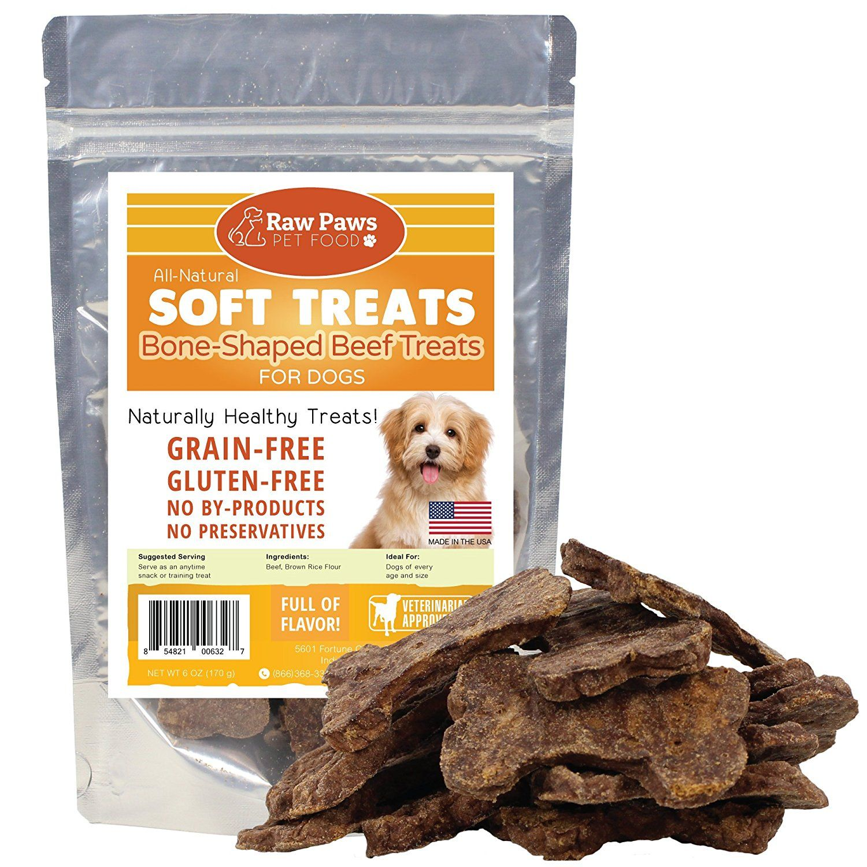Raw Paws Pet Premium Soft Jerky Dog Treats 6 Ounce Beef Made In The Usa Grain Free Great Training Snack More I Dog Treats Dog Food Recipes Dog Feeding