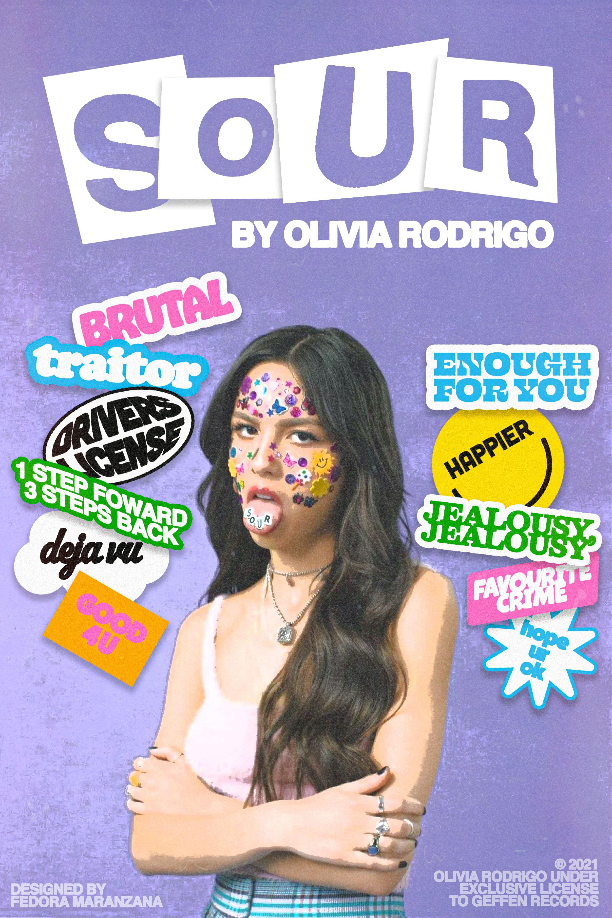 Olivia Rodrigo PINTABLE Poster