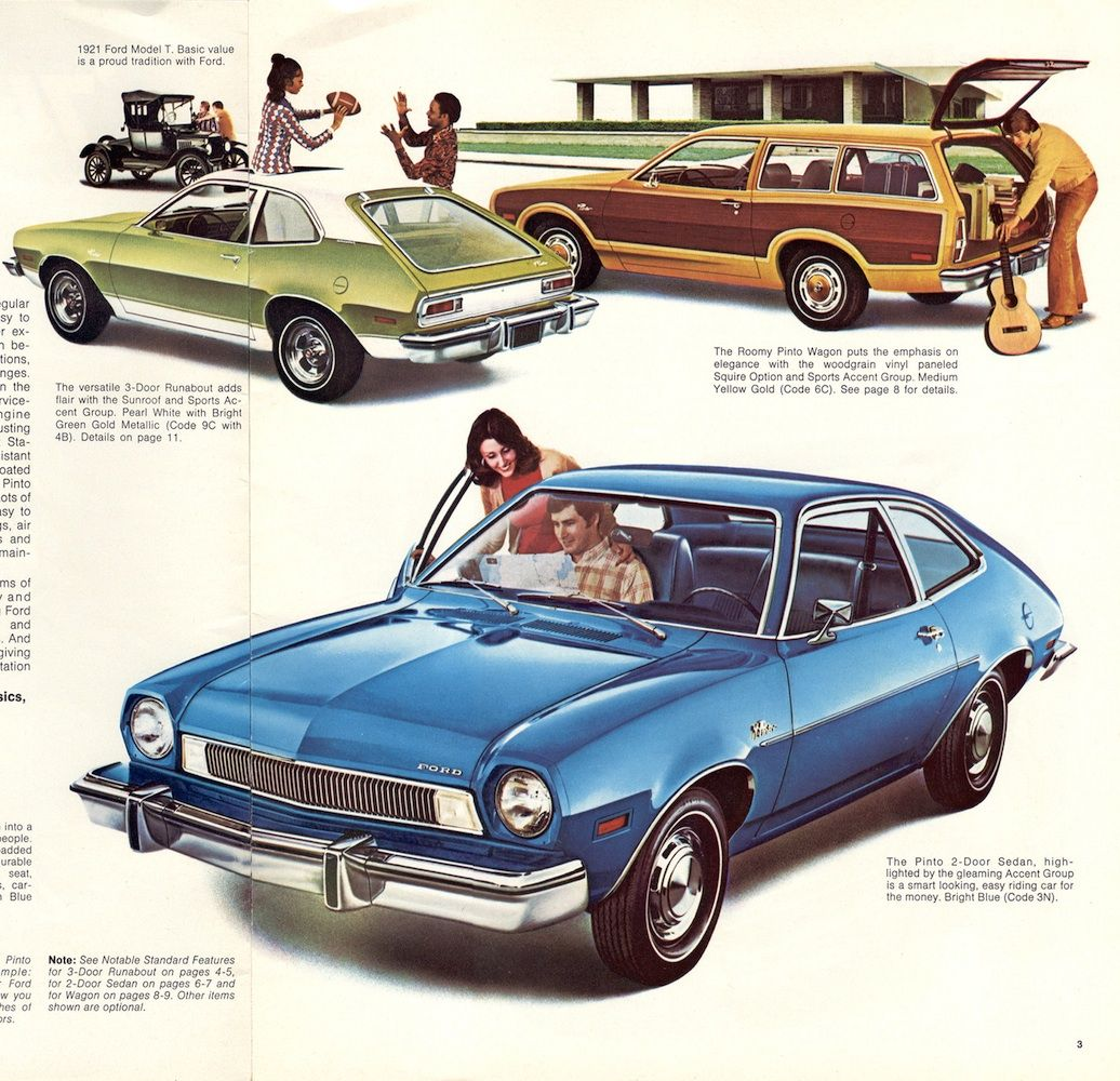 1974 Ford Pinto Lineup