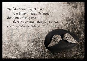 Ein Engel in Liebe | Trauer & Abschied | Echte Postkarten online versenden | MyPostcard.com