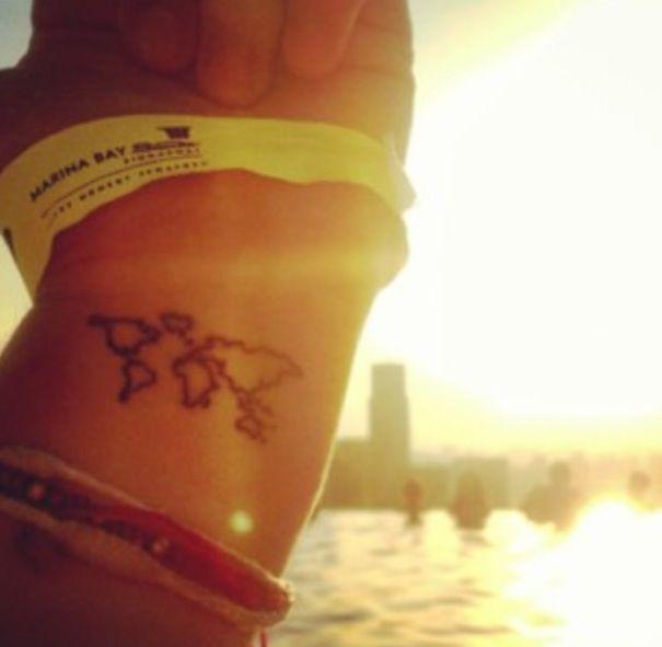Tattoo Quotes Travel: Best 25+ Small Travel Tattoo Ideas On Pinterest