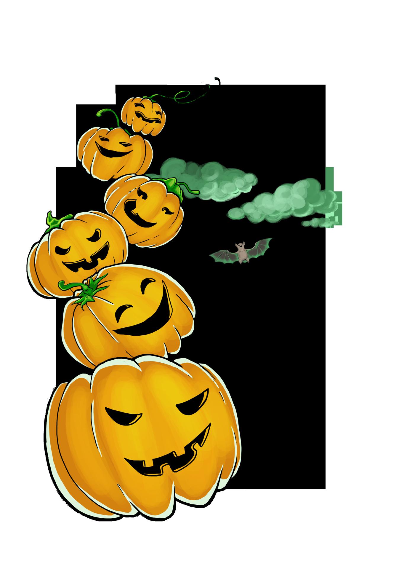 Druckvorlage für Textilprint: Thema Halloween  Auch Handyhüllen, Poster, Becher oder Untersetzer für Becher/Tassen/Glas