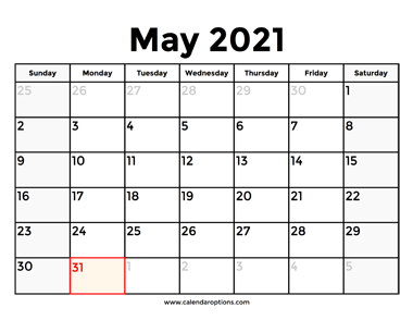 Download This May 2021 Calendar With Holidays To Know In Advance When The Next Long Weekend Will Be In The United State In 2021 2021 Calendar August Calendar Calendar