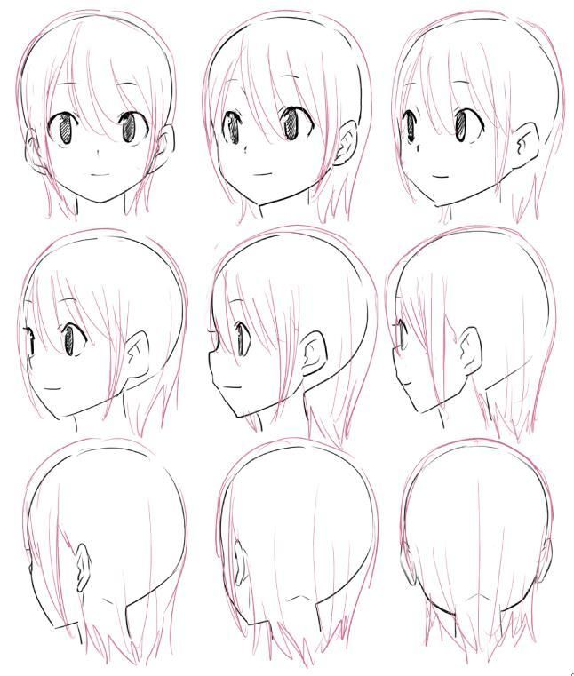 どうもmoeraです 今回は様々な角度の顔を描きます 講座というより練習に近いですけど このブログタイトルが萌えイラストを描きたい とあるのでもちろんそれ系統の絵柄でいかせていただきます まずは正面から この角度は殆どの人は描き慣れてるのではないでしょ