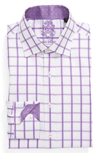 English Laundry Trim Fit Dress Shirt Shirts African Men Fashion