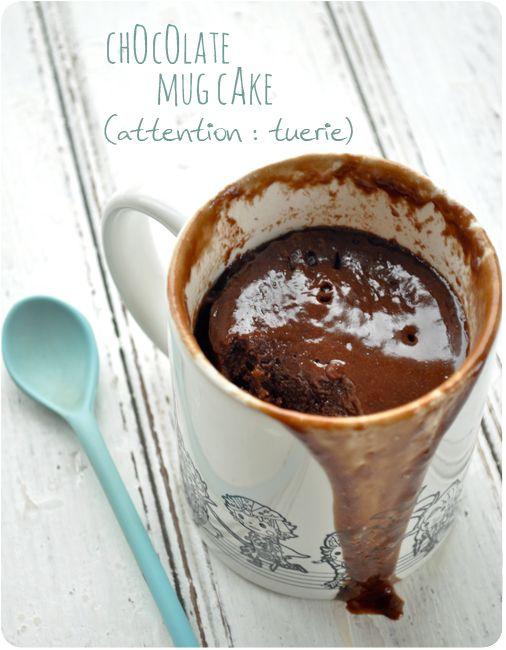 Fondant Au Chocolat Au Micro Onde Sans Vaisselle