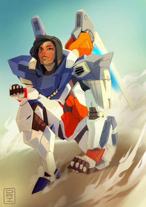 Pharah Fareeha Amari Captain Amari | ☣Overwatch☣ in 2019