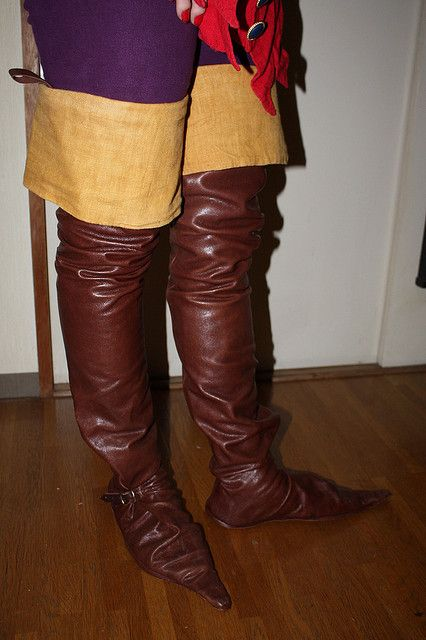 15th century French style riding boots in 2019 | Riding