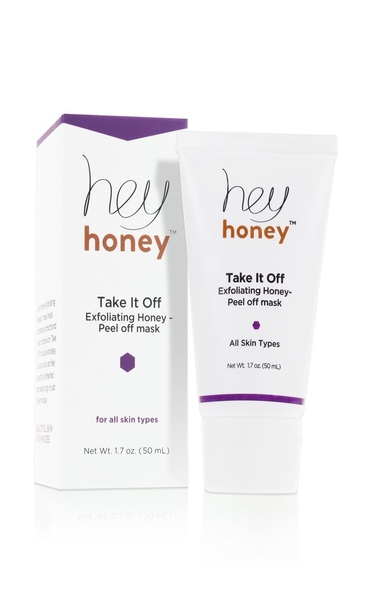 Exfoliating Honey Peel Off Mask, this made my skin so soft and moisturized after!