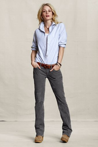 Can a gal with stumpy legs look good in cords? | Covet | Pinterest ...