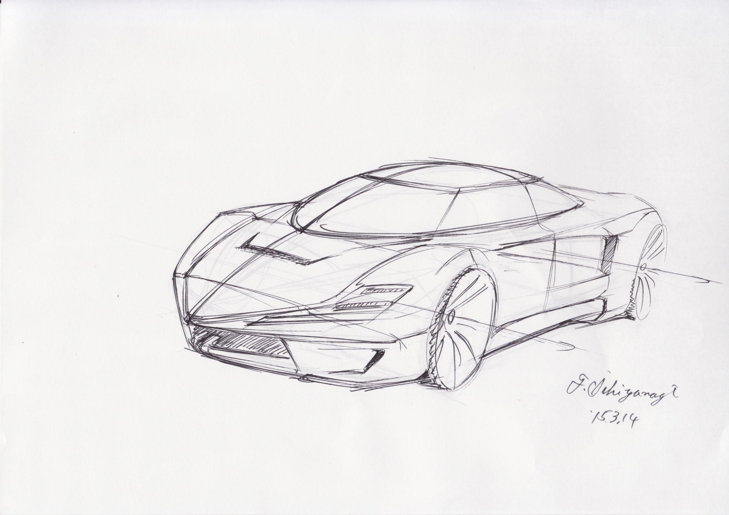 Super Car Car Sketch Sketch Book Super Cars