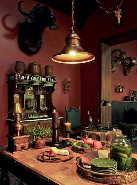 Ordinaire Hunting Lodge Interior Design And Decor Blending Urban Luxury And Boyhood  Atmosphere