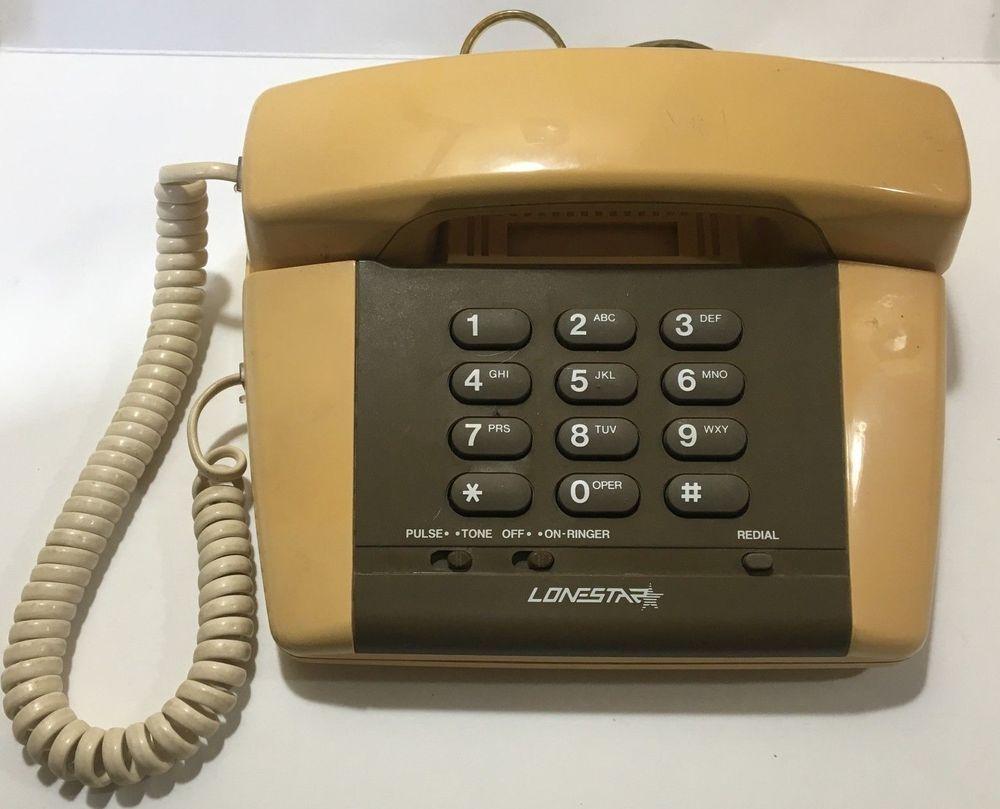 Lonestar Phone Model 939 The Retro Phone Classic Lonestardesktopphone Retro Phone Phone Corded Phone