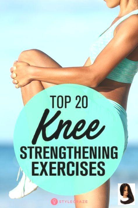 #exercise for Health #Kniestärkungsübungen #Top Top 20 Knee Strengthening Exercises        Top 20 Kn...