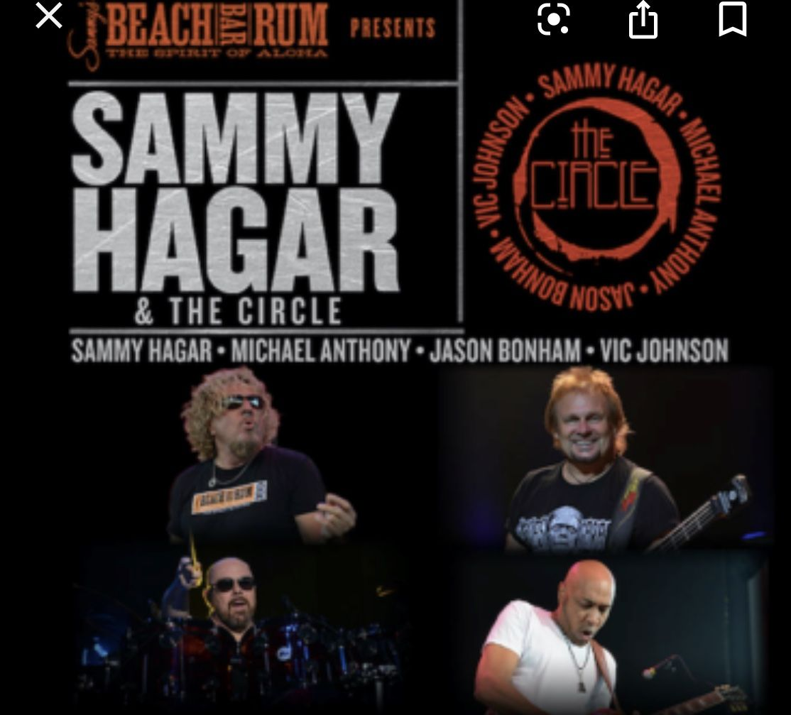 Pin By Vicki Dees On Bands I Have Seen In Concert Sammy Hagar Northfield Michael Anthony