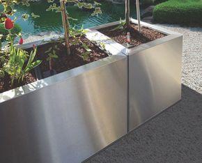 Traumgarten Ag contura pflanzgefässe die traumgarten ag edelstahl deko aussen