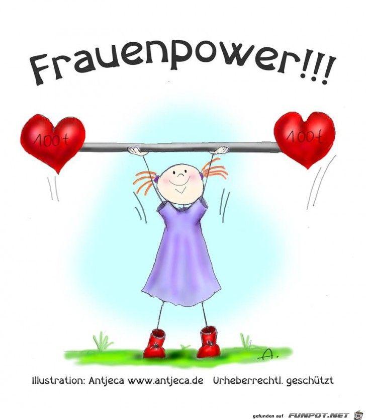 Frauenpower | Geburtstag zitate, Frauenpower, Süße zitate