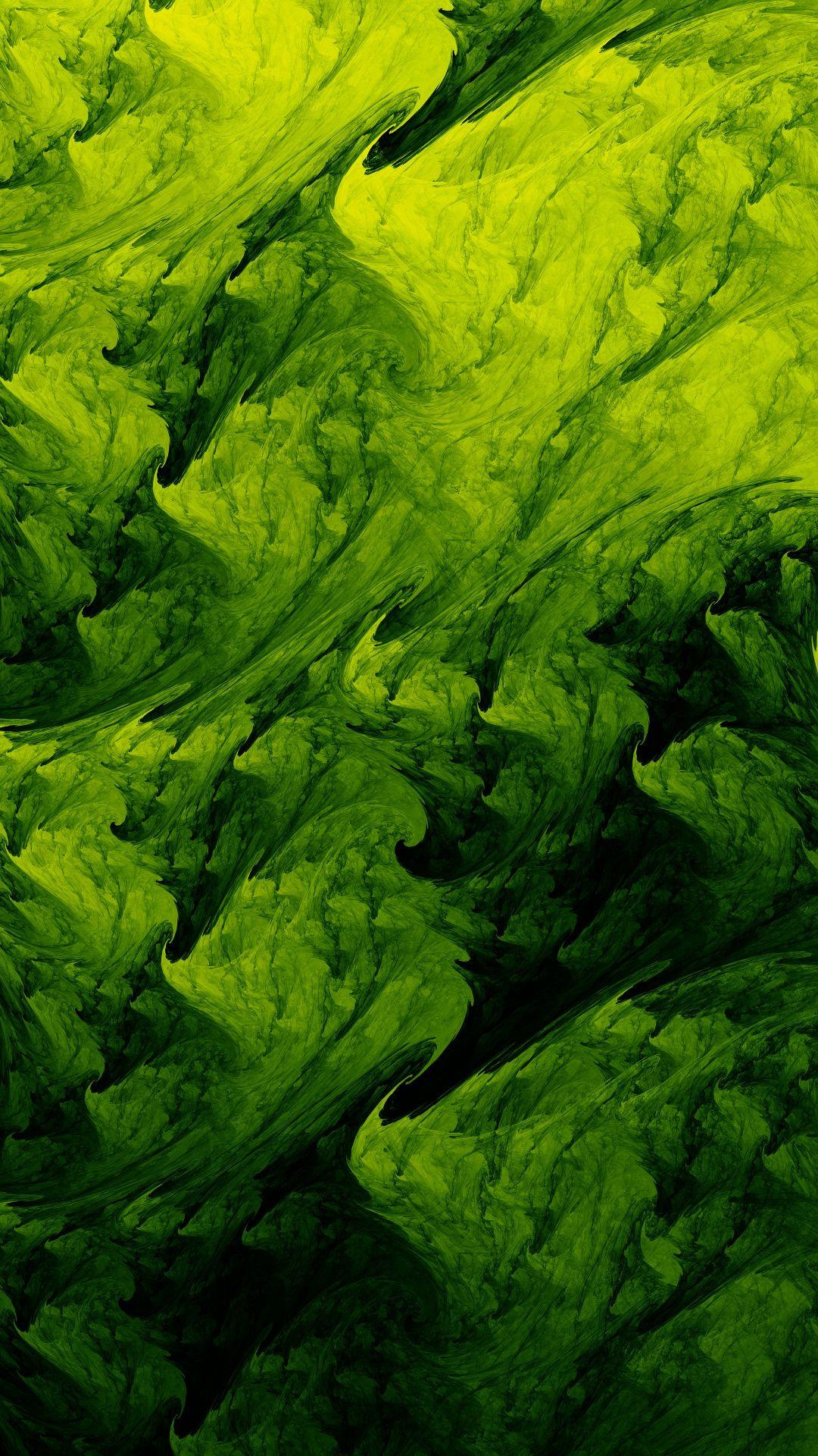 Wallpapers flower, green algae, green, vegetation
