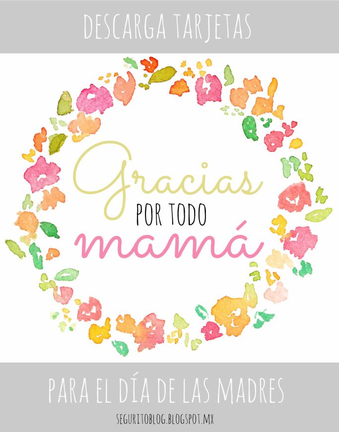 Descarga Tarjetas Para El Día De Las Madres Feliz Día De