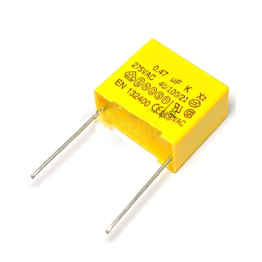 Safety Capacitor X2 275v 0 47uf 470nf 474k Lead Pitch 22mm