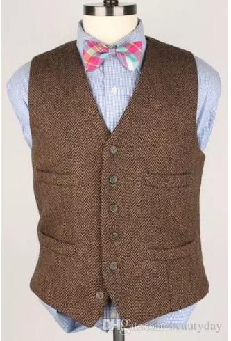 2018 Cheap Groom Wear Vests Country Farm Wedding England Style Vests Custom  Made Slim Fit Mens Suit Vest Prom Wedding Waistcoat Plus Size a9212452a921