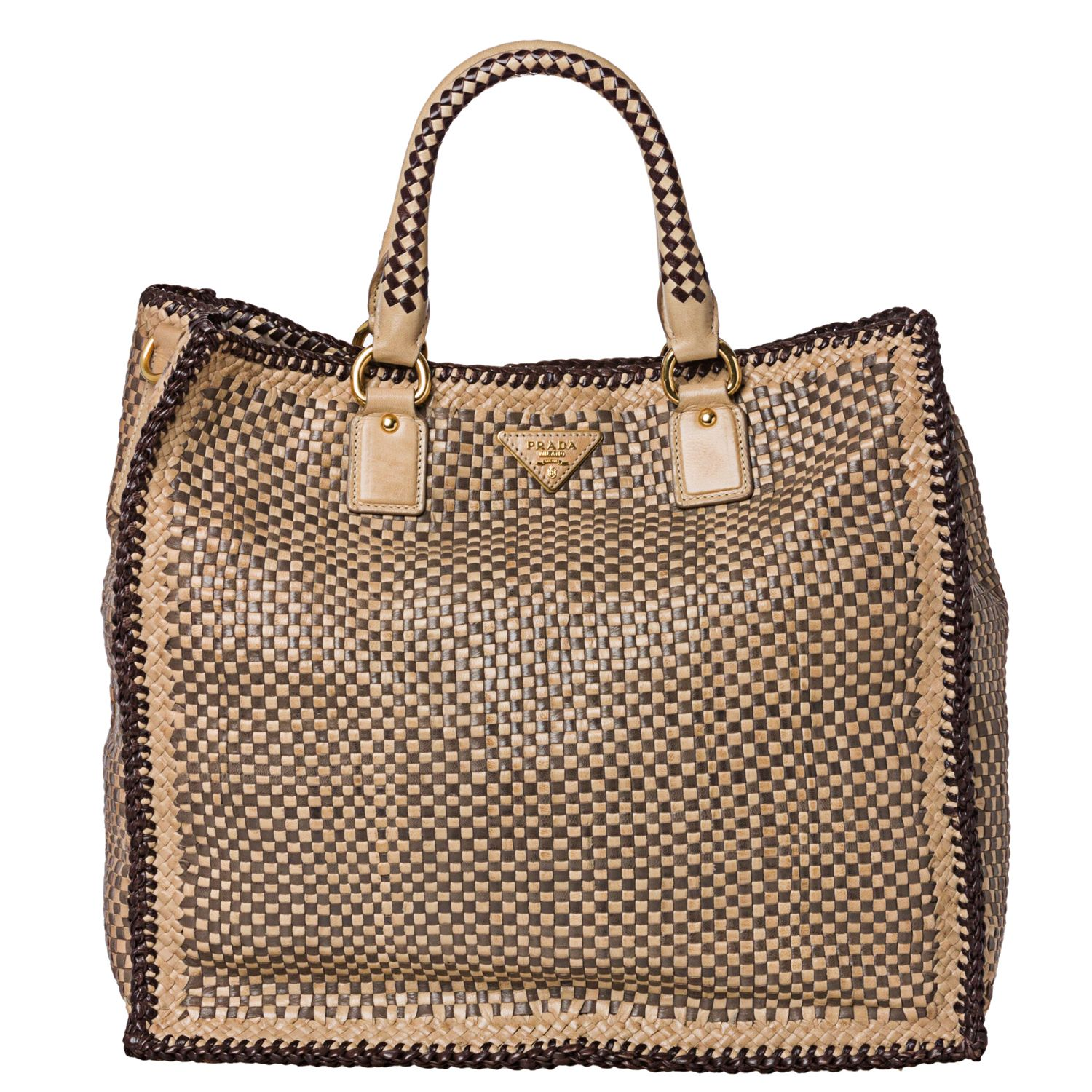 123456789101112 14d58 24ebd  where can i buy prada woven tan taupe leather  madras tote bag 1d5e3 d6229 8478d487c451f